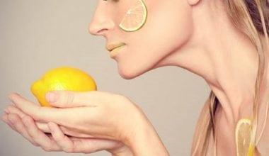 Limonla Cilt Bakımı