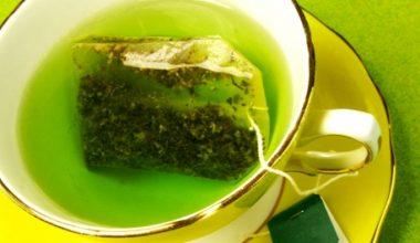 Saç Dökülmesine Karşı Yeşil Çay