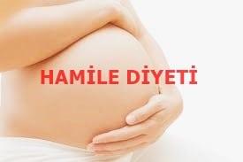 Hamileler Özel 3 Günlük Hamile Diyeti