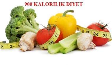 900 Kalorilik Diyet