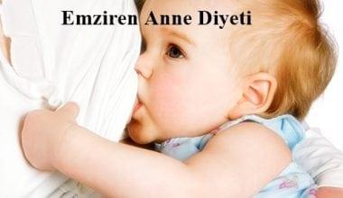 Emziren Anneler İçin Özel Diyet