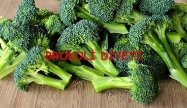 Basen Eriten Brokoli Diyeti