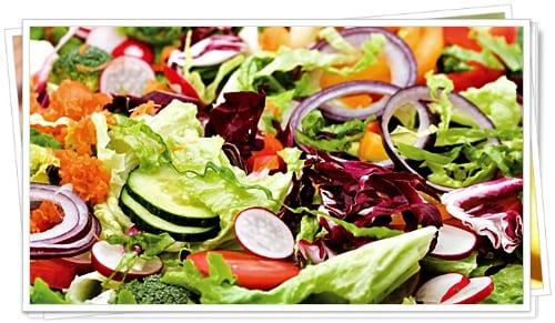 Zayıflama Üstadı Sebze Salatası