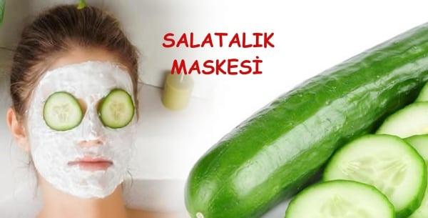 Salatalık ile Cilt Bakımı