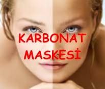 Cilt Beyazlatmak için Karbonat Maskesi