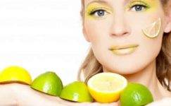Limonlu Sivilce Maskesi