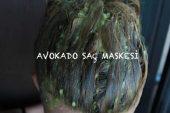 Gür ve Güçlü Saçlar için Avokado Maskesi