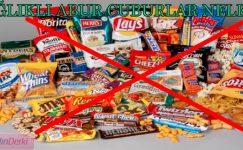 Abur Cubursuz Yapamayanlara Kalorisi Düşük Yiyecekler