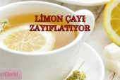 Limon Çayı ile Zayıflama