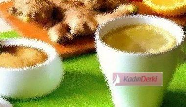 Portakal Zencefil Kış Çayı